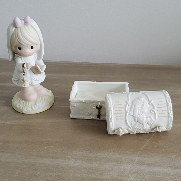 Precious Moments First Communion Figure and Box